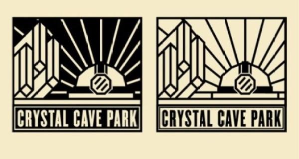 Contoh Desain Brosur Desain Kreatif - Crystal Cave Park 2