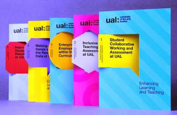 Contoh desain brosur desain kreatif - Learning & Teaching 1