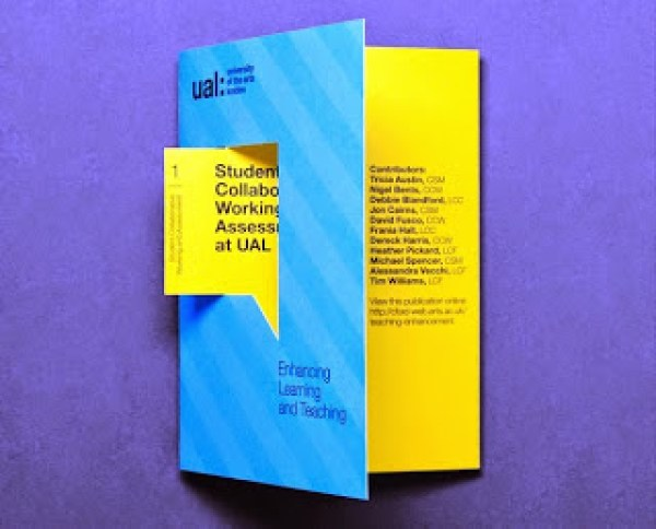 Contoh desain brosur desain kreatif - Learning & Teaching 2