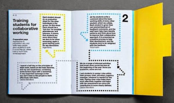 Contoh desain brosur desain kreatif - Learning & Teaching 4