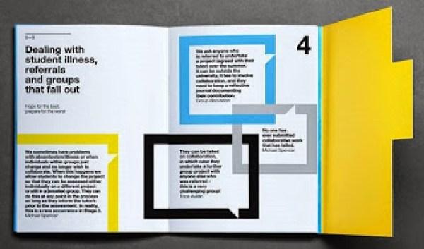 Contoh desain brosur desain kreatif - Learning & Teaching 5