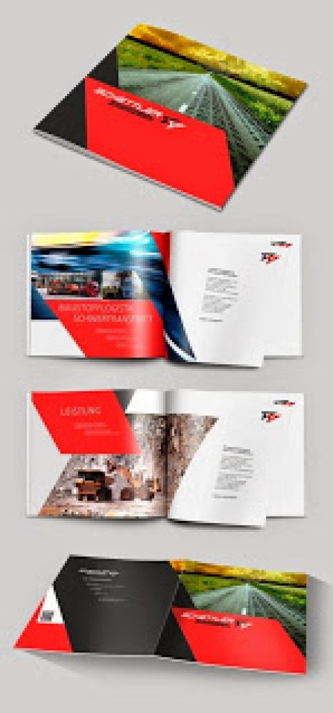 Contoh desain brosur desain kreatif - New Concept 1