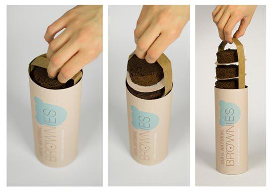 22 Contoh Konsep Desain Kemasan Produk - Konsep Desain Kemasan - Brownies