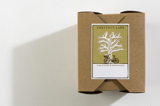 22 Contoh Konsep Desain Kemasan Produk - Konsep Desain Kemasan - Chestnut Lane Box Packaging Design