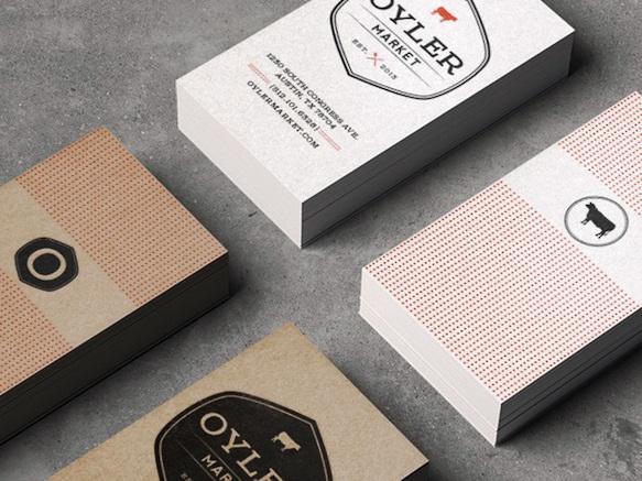 Gambar Desain Kartu Nama Terbaru - Gambar Contoh Desain Kartu Nama - Oyler Market by Alex Chernault