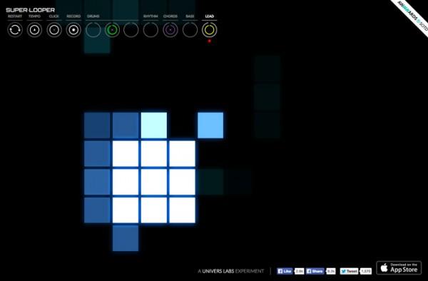 Website Desain Terbaik 2014 - Desain Website Terbaik 2014 - Super Looper
