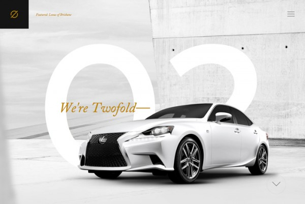 Website Desain Terbaik 2014 - Desain Website Terbaik 2014 - Twofold