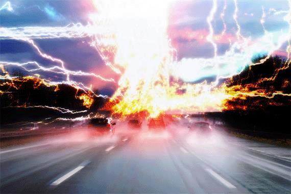Tutorial Photoshop Membuat Effek Pencahayaan - Tutorial-Photoshop-Membuat-Efek-Cahaya-Ledakan-Kiamat