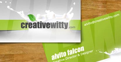 19 Desain Kartu Nama Ini Akan Menginspirasi Anda - Contoh-Gambar-Kartu-Nama-Inspiratif-Creative-Director-Designer