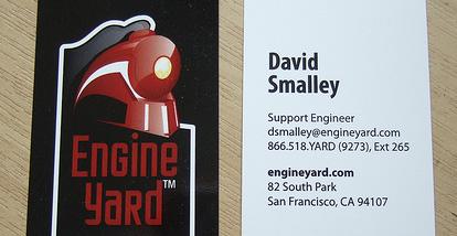 19 Desain Kartu Nama Ini Akan Menginspirasi Anda - Contoh-Gambar-Kartu-Nama-Inspiratif-David-Smalley