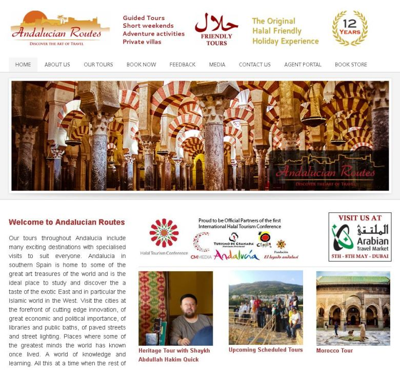 Best 9 Islamic Travel Websites With Good Seo - Islamic-Travel-Website-Islamic-Spain