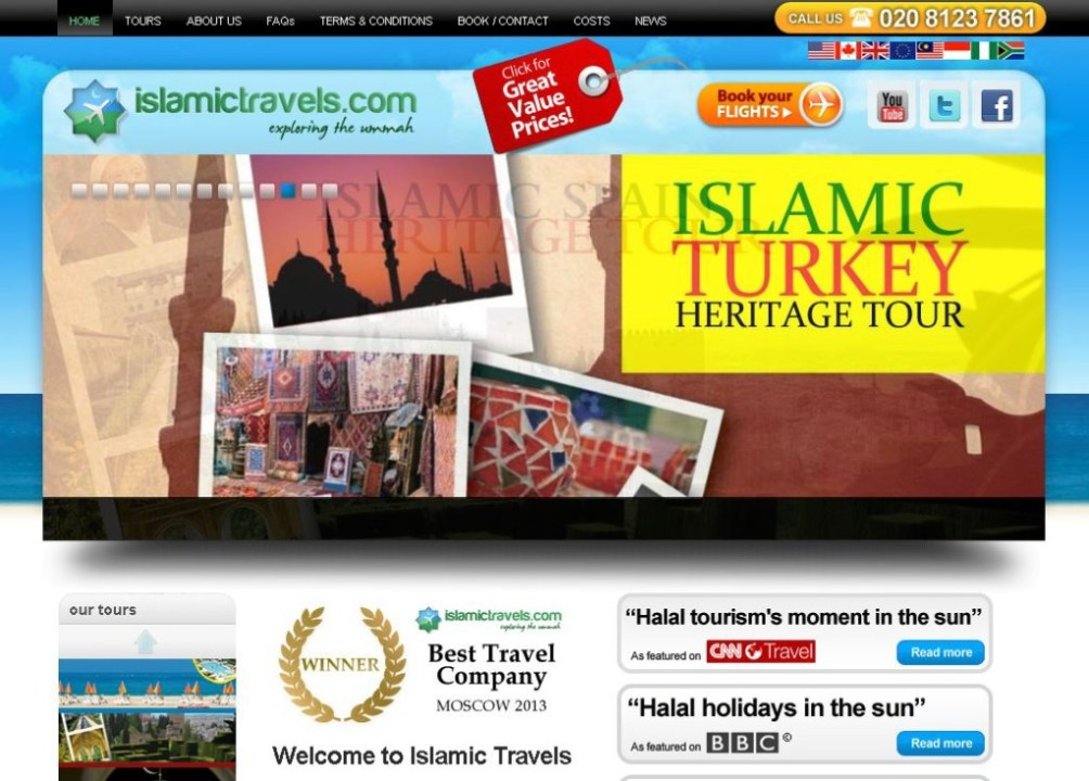 Best 9 Islamic Travel Websites With Good Seo - Islamic-Travel-Website-Islamic-Travel