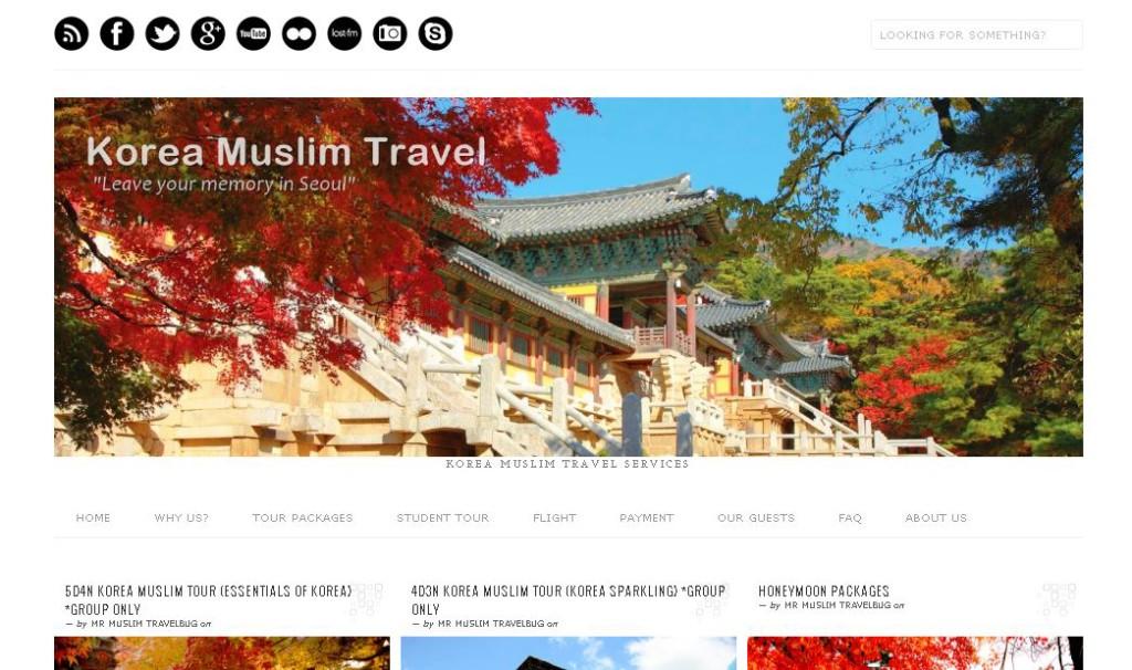 Best 9 Islamic Travel Websites With Good Seo - Islamic-Travel-Website-Korea-Muslim-Travel