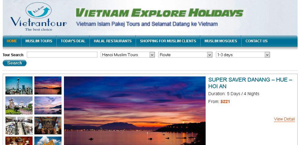 Best 9 Islamic Travel Websites With Good Seo - Islamic-Travel-Website-Vietnam-Muslim-Tour