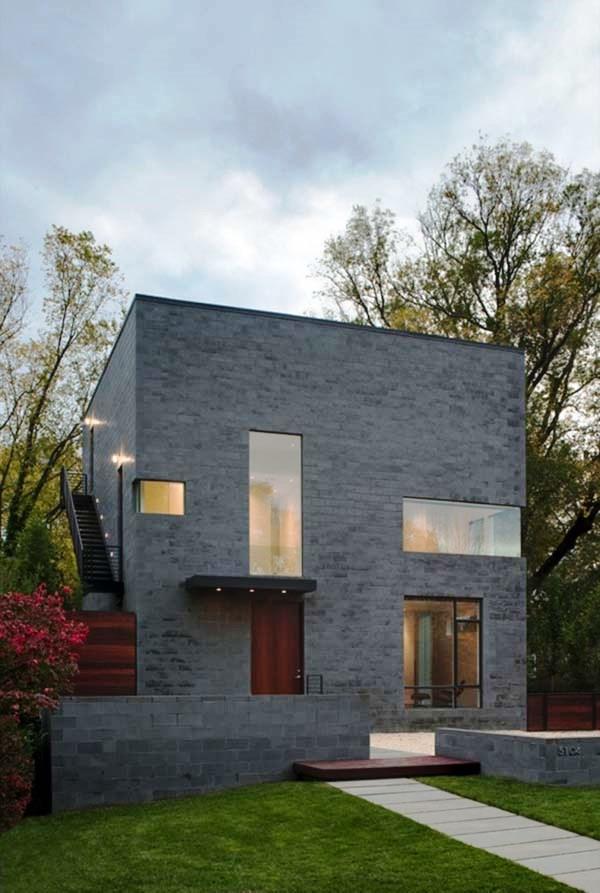 Tips Merenovasi Rumah Menjadi Type Minimalis - Comfortable-and-minimalist-cube-shaped-home-with-modern-features