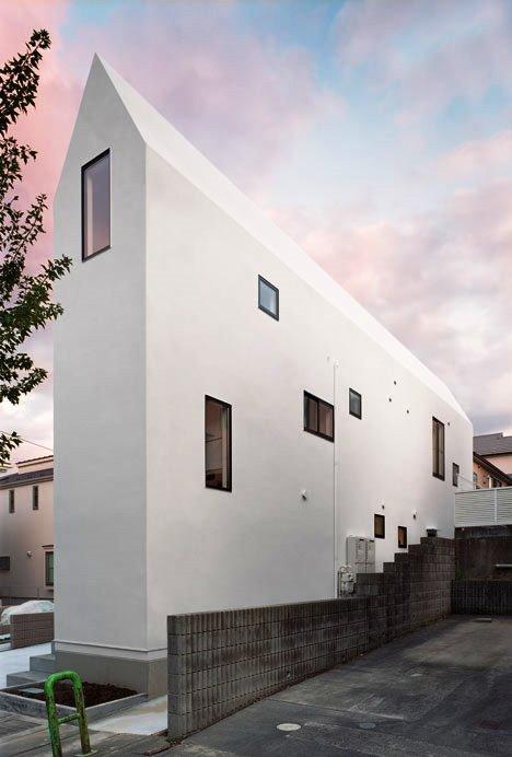 Desain Interior Terbaik Untuk Rumah Sempit - House K by Hiroyuki Shinozaki Architects 1