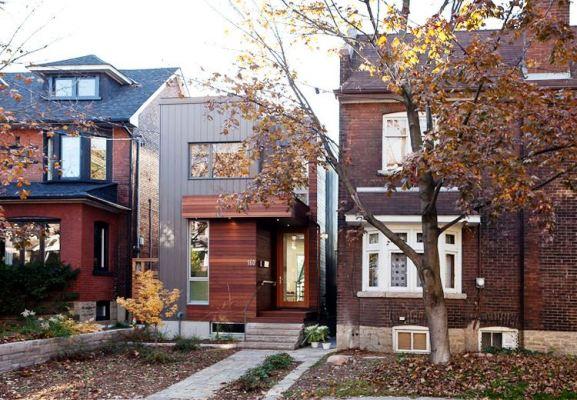 Desain Interior Terbaik Untuk Rumah Sempit - Julia Knezic Narrow Modern House