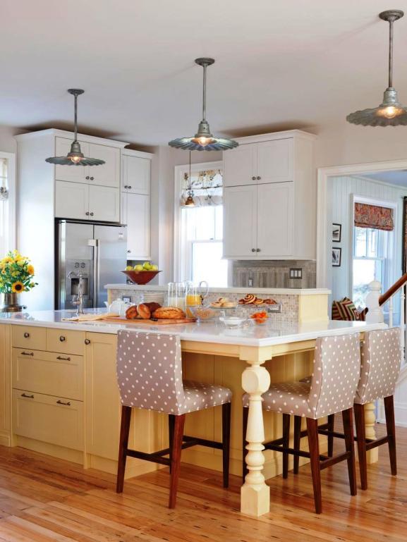 Menentukan Warna Cat Dapur Rumah - Yellow kitchen