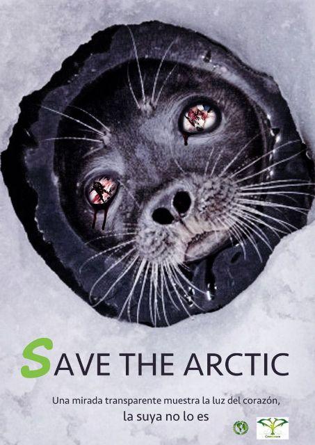 Poster Lingkungan Save The Arctic