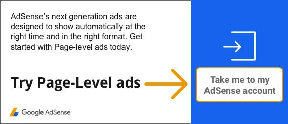 Google Adsense Page-Level Ads