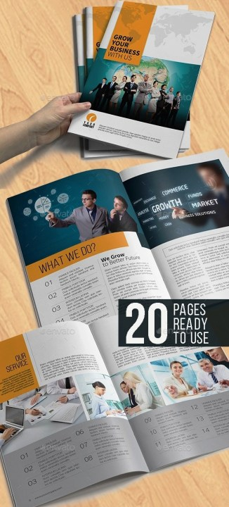 Corporate Brochure Company Profile 24
