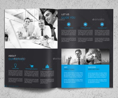 Corporate Brochure Company Profile 25 b