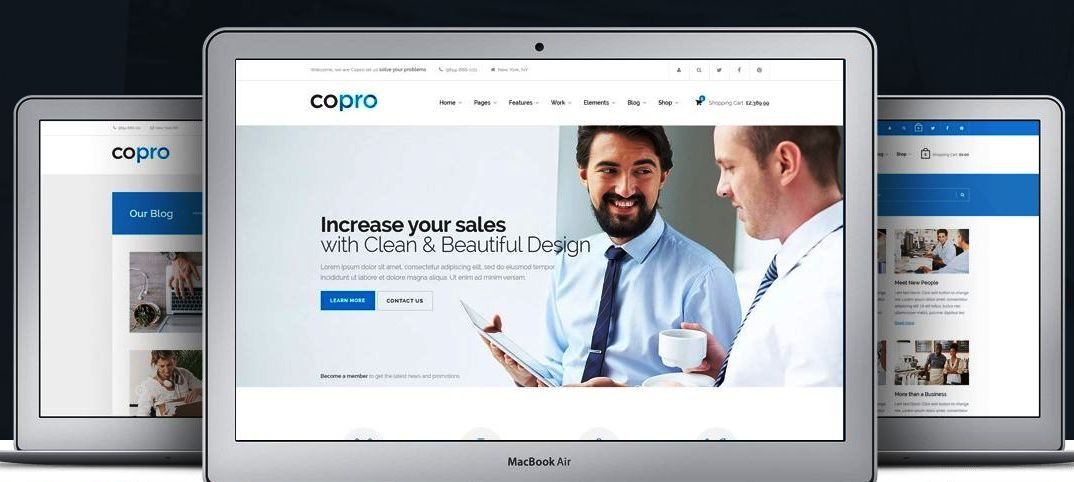 Best Themeforest business corporate profile Website theme