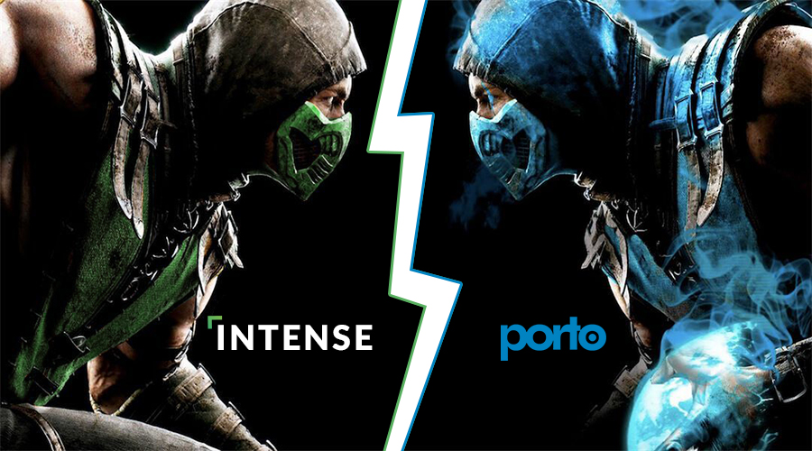 Multipurpose Theme Intense vs Porto