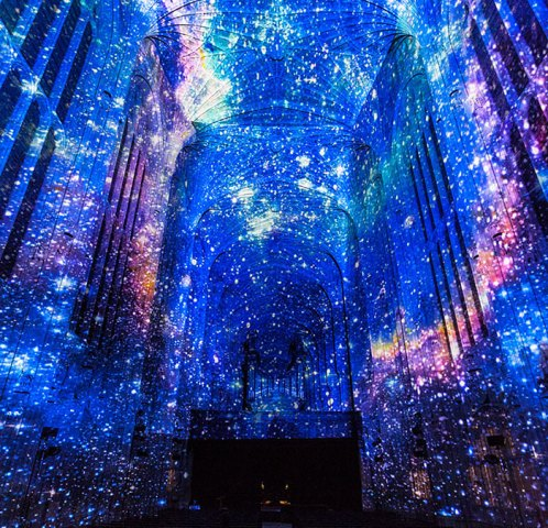 Immersive Projection of the Universe
