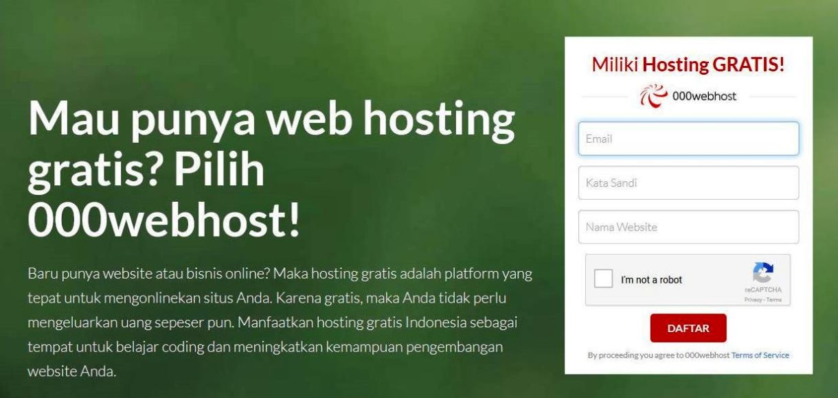 Web Hosting Indonesia Premium