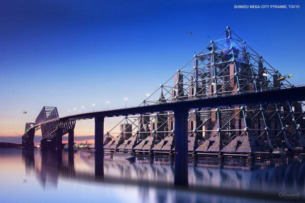 Konsep Bangunan Futuristik yang Gagal Dibangun