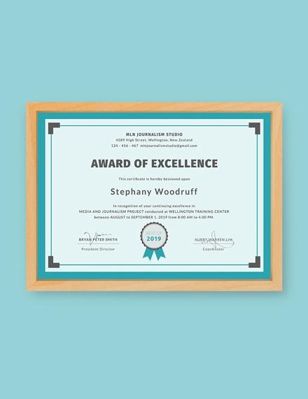 Top 10 Free Achievement Certificate Templates