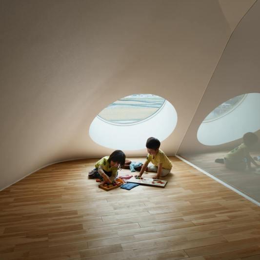 Arsitektur Unik Jepang: Sekolah TK Okazaki City Prefecture Aichi