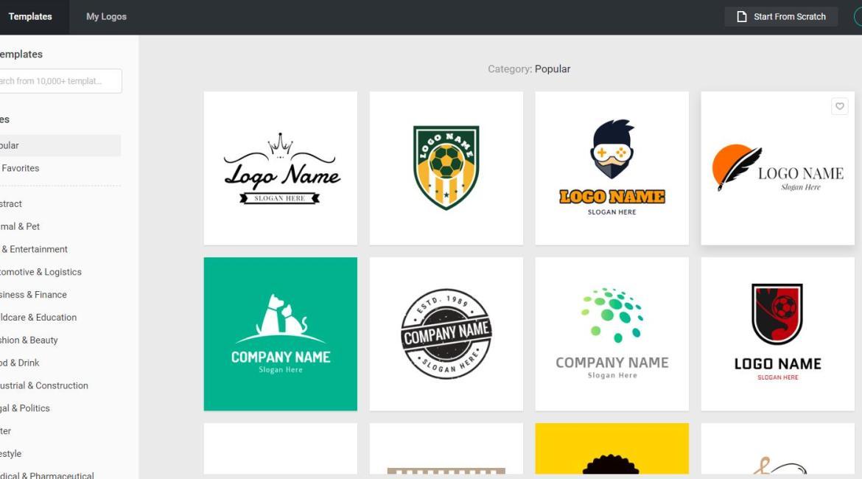 DesignEvo: Create a free online logo in a few clicks