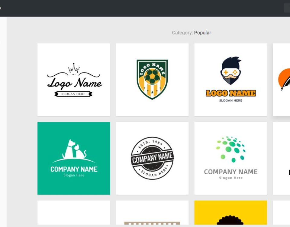 DesignEvo: Create a free online logo in a few clicks