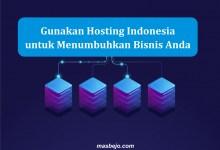 Gunakan Hosting Indonesia
