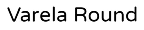 Varela Font ( Jenis Font pada Among Us )