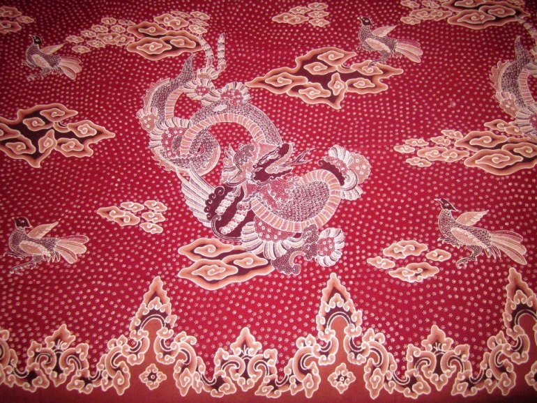 Cara Membuat Motif Batik: Motif Batik Liong Pekalongan