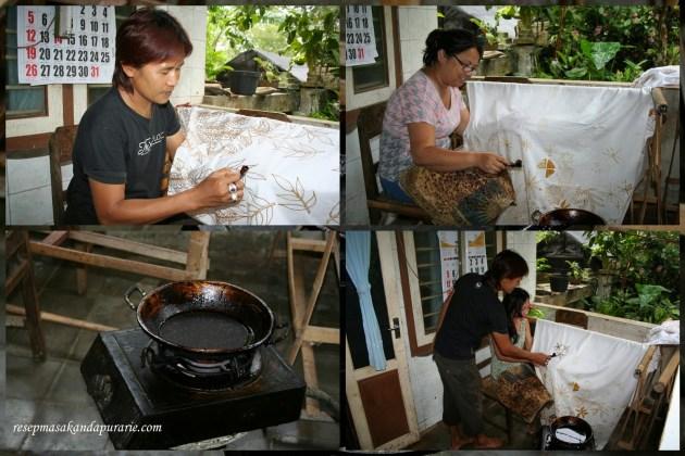 Cara Membuat Motif Batik: Langkah Ketiga Membuat Batik Sederhana