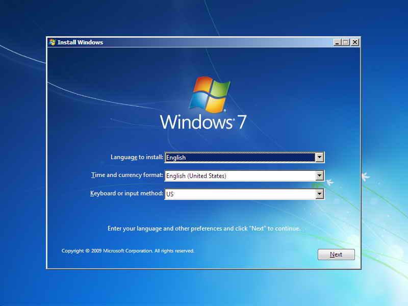 instal windows 7 - masbidin.net