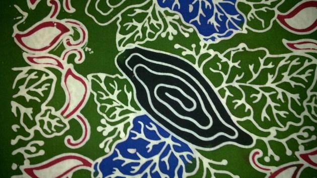 Cara Membuat Motif Batik: Motif Batik Kayu Jati Blora