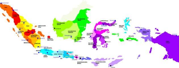Manfaat Keberagaman Budaya: Luas Wilayah Indonesia