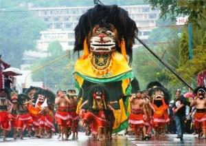 Gambar Barongan Blora Jawa Tengah