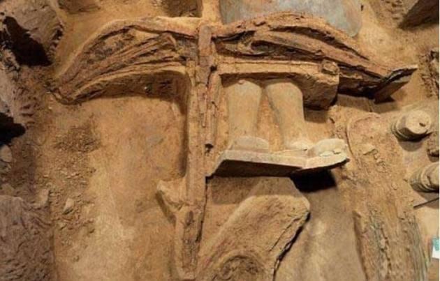 Penemuan Gambar Busur Panah Kuno Bangsa China