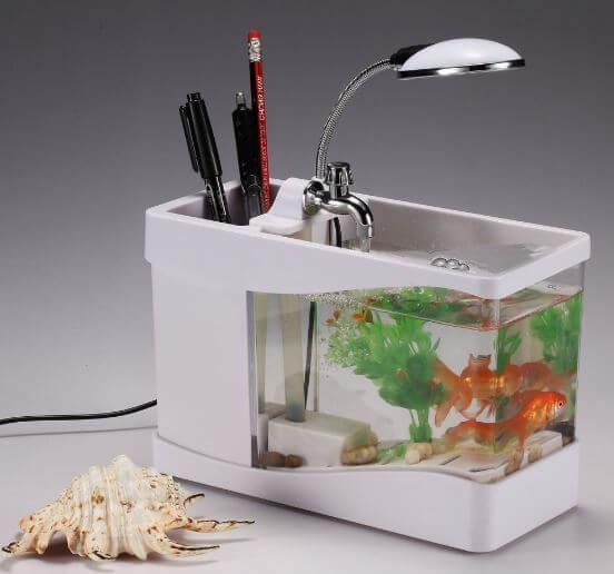 Jual Aquarium Mini Harga Murah USB Dekstop
