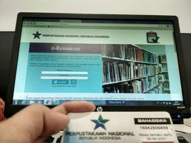 Perpustakaan Nasional Indonesia - Kartu Keanggotaan Perpusnas