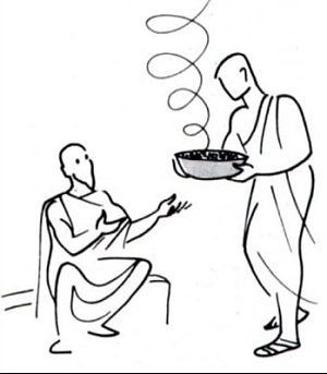 Then Jacob gave him some of the soup (Valloton)