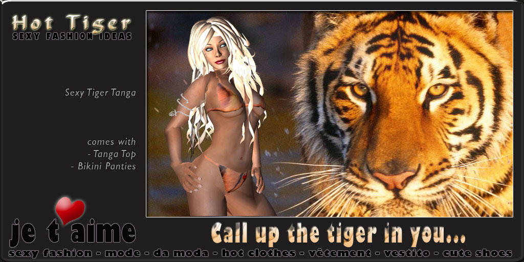 Call up the Tiger in you...