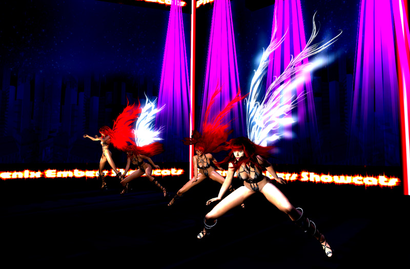 Phoenix Embers Showcats made their Dress rehearsal