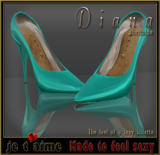 New release at Je taime: Pumps Stiletto alienblue